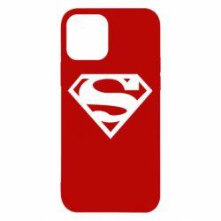 Чехол для iPhone 12/12 Pro Superman одноцветный