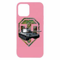 Чехол для iPhone 12/12 Pro Tank and WOT game logo