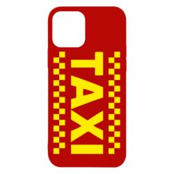 Чехол для iPhone 12/12 Pro TAXI