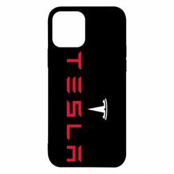 Чехол для iPhone 12/12 Pro Tesla
