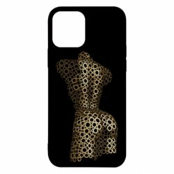 Чехол для iPhone 12/12 Pro The body of a girl from the grommets