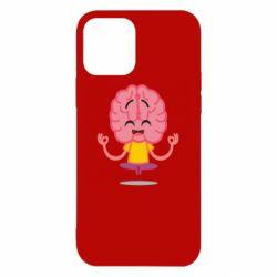 Чохол для iPhone 12/12 Pro The brain meditates