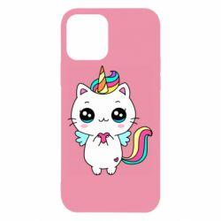 Чохол для iPhone 12/12 Pro The cat is unicorn