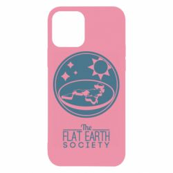 Чехол для iPhone 12/12 Pro The flat earth society