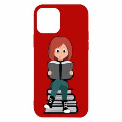 Чохол для iPhone 12/12 Pro The girl is reading
