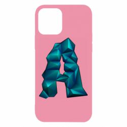Чехол для iPhone 12/12 Pro The letter a is cubic