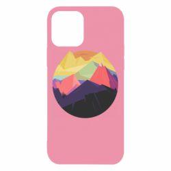 Чехол для iPhone 12/12 Pro The mountains Art