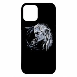 Чехол для iPhone 12/12 Pro The Witcher in profile art