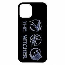 Чехол для iPhone 12/12 Pro The witcher pendants