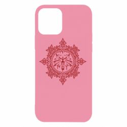Чохол для iPhone 12/12 Pro The Witcher Wolf and Pattern
