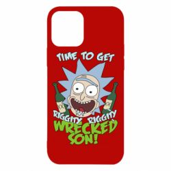 Чехол для iPhone 12/12 Pro Time to get riggity wrecked son