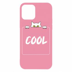 Чехол для iPhone 12/12 Pro Top cat and the inscription cool