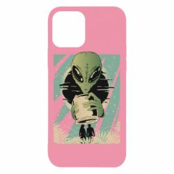 Чохол для iPhone 12 Alien with a can