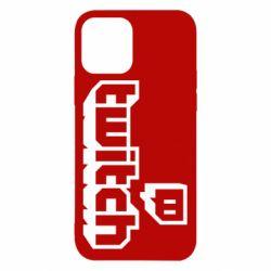 Чохол для iPhone 12/12 Pro Twitch logotip