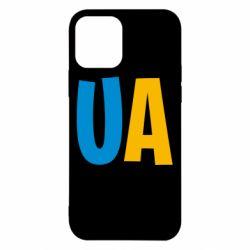 Чехол для iPhone 12/12 Pro UA Blue and yellow