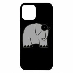 Чехол для iPhone 12 удивленный слон