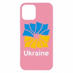 Чехол для iPhone 12/12 Pro Ukraine квадратний прапор