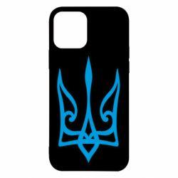 Чохол для iPhone 12/12 Pro Ukrainian trident with contour