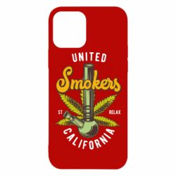 Чохол для iPhone 12/12 Pro United smokers st relax California