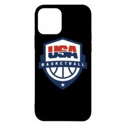 Чехол для iPhone 12/12 Pro USA basketball