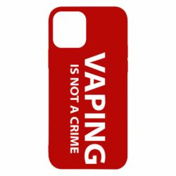 Чехол для iPhone 12/12 Pro Vaping is not a crime