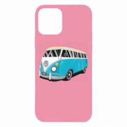 Чехол для iPhone 12/12 Pro Vector Volkswagen Bus