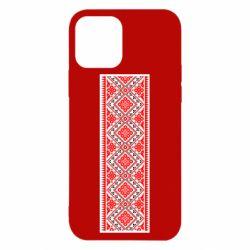 Чехол для iPhone 12/12 Pro Вишиванка