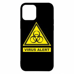 Чехол для iPhone 12/12 Pro Warning Virus alers
