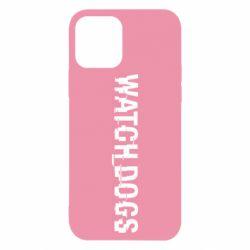 Чехол для iPhone 12/12 Pro Watch Dogs text