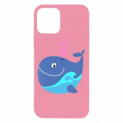 Чохол для iPhone 12/12 Pro Whale with smile
