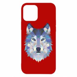 Чехол для iPhone 12/12 Pro Wolf is a vector
