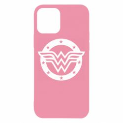 Чехол для iPhone 12/12 Pro Wonder woman logo and stars