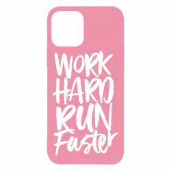 Чохол для iPhone 12/12 Pro Work hard run faster