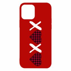 Чехол для iPhone 12/12 Pro XOXO red