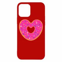 Чехол для iPhone 12/12 Pro Я люблю пончик