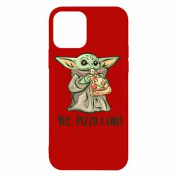 Чехол для iPhone 12/12 Pro Yoda and pizza