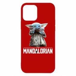 Чехол для iPhone 12/12 Pro Yoda with a cup
