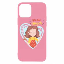 Чехол для iPhone 12/12 Pro You are super girl