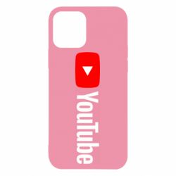 Чехол для iPhone 12/12 Pro Youtube logotype