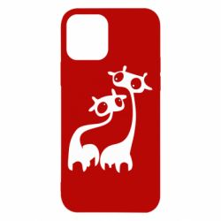 Чехол для iPhone 12/12 Pro Жирафы