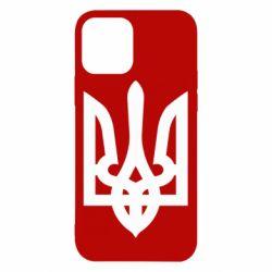 Чехол для iPhone 12/12 Pro Жирный Герб Украины