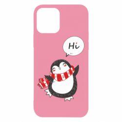 Чохол для iPhone 12/12 Pro Зимовий пингвинчик