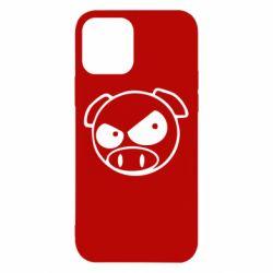 Чехол для iPhone 12/12 Pro Злая свинка