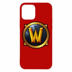 Чехол для iPhone 12/12 Pro Значок wow