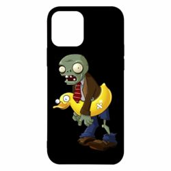 Чехол для iPhone 12/12 Pro Zombie with a duck