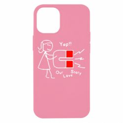 Чехол для iPhone 12 mini 2302Our love story2