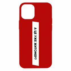 Чохол для iPhone 12 mini А Це Уже Житомєр?