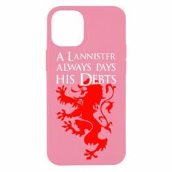 Чохол для iPhone 12 mini A Lannister always pays his debts