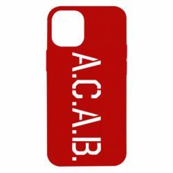 Чохол для iPhone 12 mini A.C.A.B.