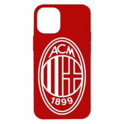Чохол для iPhone 12 mini AC Milan logo